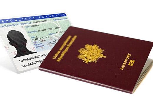 Fichier TES carte identite passeport