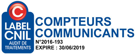 Logo Label CNIL Audit de Traitements Compteurs Communicants