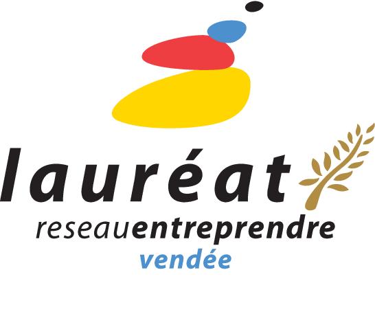 Logo Lauréat Réseau Entreprendre Vendée