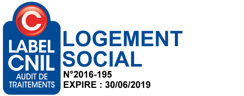 Logo Label CNIL Audit de Traitements Logement Social