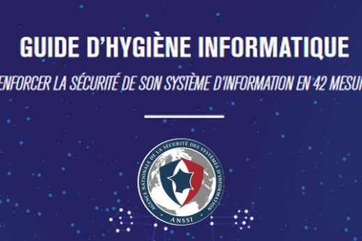 guide hygiène informatique ANSSI