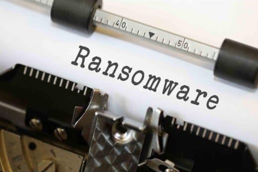 cas réel de ransomware 2018