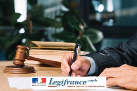 legifrance ordonnance