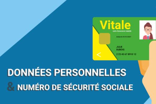 données personnelles carte vitale sécurité sociale