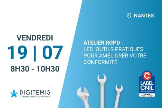 invitation atelier rgpd 19/07/2019