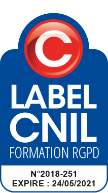 Logo Label CNIL Formation DPO