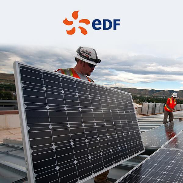 EDF panneaux solaires