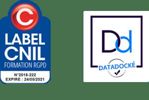 Label CNIL RGPD et Datadock