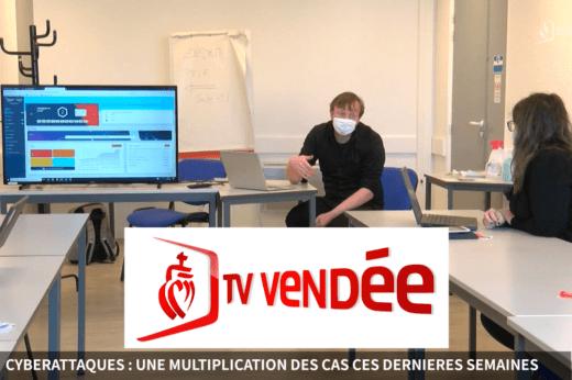 TV Vendée chez DIGITEMIS mars 2021